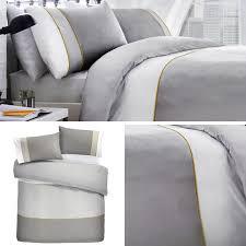 Designer Quilt Covers Details About Grey Duvet Covers 100 Cotton 200 Thread Count Designer Quilt Cover Bedding Sets