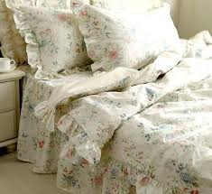 nordic fl bedding set4 pc vintage beautiful country style home textiles full king queen cotton bedspread