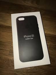 apple iphone se leather case schwarz t o p in nordrhein westfalen marsberg