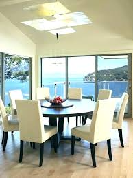 round dining room table sets for 6 modern seats r