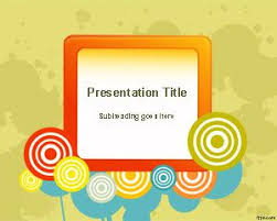 Color Wheel Powerpoint Template