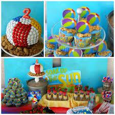 Beach Ball Decoration Ideas Kara's Party Ideas Beach Ball Birthday Party Supplies Planning 24