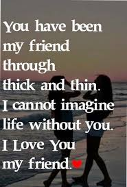 Love My Friends Quotes Simple I Love You My Friend AMAZING Pinte