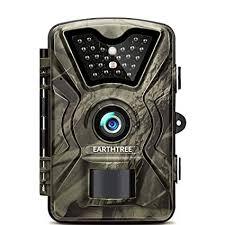 EARTHTREE Wildlife Camera 14 MP <b>1080P</b> Full <b>HD</b> Hunting ...
