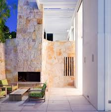 Small Picture Contemporary Modern Exterior Walls Design With Wide Glasses