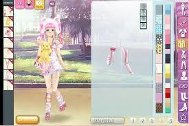 manga lily dress up game screen shot 1