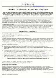 Logistics Associate Sample Resume Delectable Resume Sample 44 Supply Chain Management Resume Career Resumes