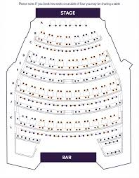 Table Seating Chart Online Seating Plan Royal Court Theatre