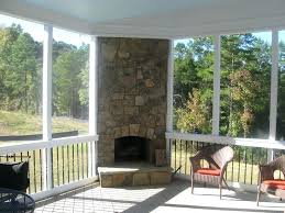 screened covered patio ideas. Screened In Patio Ideas Outdoor With Fireplace Designs Backyard Covered U