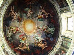 18 michelangelo paintings on the ceilings