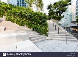 Design Orchard Rooftop Space At Design Orchard Singapore Stock Photo