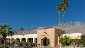 front entrance of desert aids project