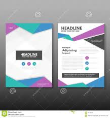 abstract triangle blue green purple polygon annual report leaflet brochure flyer template design book cover layout design abstract green presentation