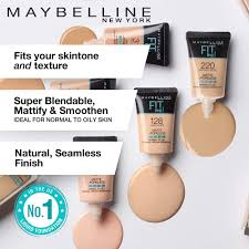 Maybelline Skin Tone Chart Maybelline New York Fit Me Matte Poreless Liquid Foundation Tube 220 Natural Beige 18ml