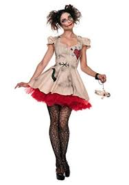seeing red womens plus size voodoo doll costume 1x