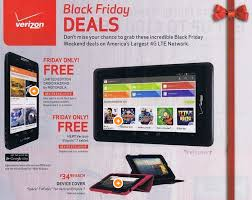 Black Friday for Big Red Verizon ad for shopping holiday leaks