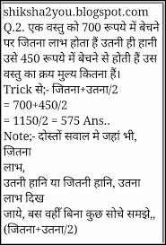 Profit Loss Formula Profit Loss Formula In Hindi Form Resume Examples