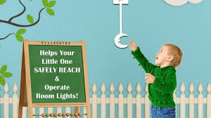 Kid Light Switch Extender Gadget Lets Kids Turn Lights On And Off By Themselves