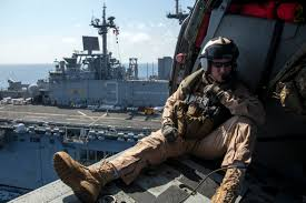 File U S Navy Naval Aircrewman Helicopter 1st Class John