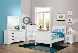Louis Philippe Bedroom Furniture Coaster 204691t S4 Louis Philippe White 4 Pcs Twin Bedroom Set