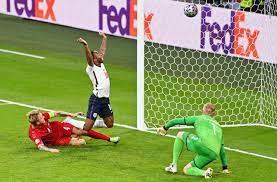 EURO 2020   England vs. Denmark as it ...