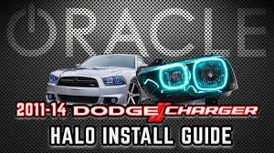 2012 Charger Halo Lights Oracle Lighting Halo Install Guide 2011 2014 Dodge Charger