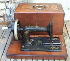 Vintage Hand Crank Sewing Machine
