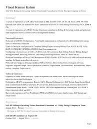Sap Abap 3 Years Experience Resume Resume For Study