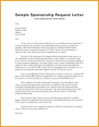 Proposal Letter For Sponsorship Sample For Event Event Sponsorship Letter Format Sample For Sports Proposal