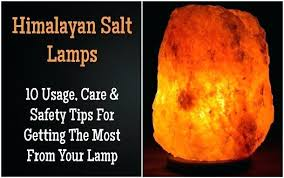 Real Salt Lamp
