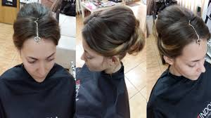 Hair Style For Asians indian pakistani asian bridal hair style youtube 5692 by stevesalt.us