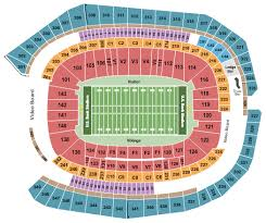 Final Four Seating Chart Us Bank Stadium Seating Chart Minneapolis