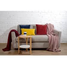 <b>Чехол на подушку бархатный</b> Хвойное утро Цвет бордовый ...