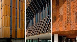 Cor ten steel Rusted Eyecatching Corten Steel Construction Details Corten Steel Tag Archdaily
