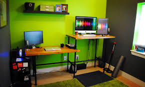 home office standing desk. diy standing home desk office d