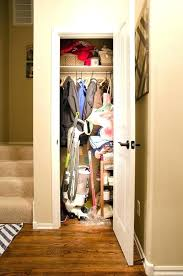 coat closet storage ideas coat closet ideas its been a combo coat catch all closet with coat closet storage ideas