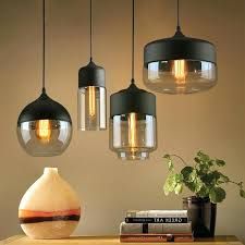 hanging lamp shades modern clear creative pendant kinds glass shade ikea