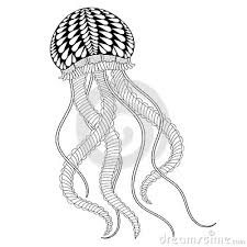 Small Picture Jellyfish Animal Coloring Pages Ocean Jellyfish Animals Coloring