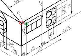 Isometric drawings show no true distances. Solved Draw Objects By Coordinates In Isometric Drawing Autodesk Community Autocad
