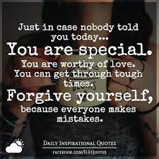Give yourself a break. Stop beating yourself up! Everyone makes mistakes,  has setbacks