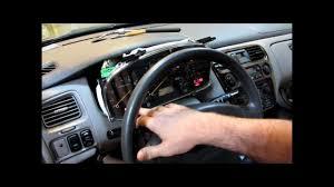 2000 Honda Accord Instrument Cluster Display Lighting And Odometer Repair
