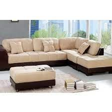 modern l shape sofa set living room