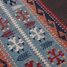 blue kilim rug luxury jute rugs