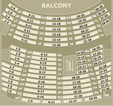 Bing Crosby Theater Seating Chart Best Picture Of Chart