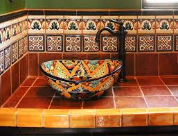 superb mexican talavera tile kitchen backsplash