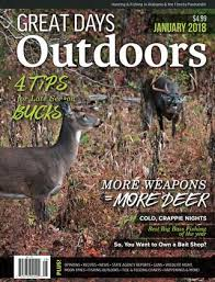 Great Days Outdoors January 2018 By Trendsouth Media Issuu