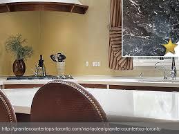 via lactea granite countertop design idea
