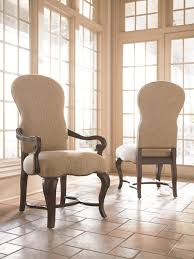 upholstered dining room chair. Dining Room Chairs High Back Upholstered Chair With Wooden Arms On Ceramic Floor Tile Ideas U