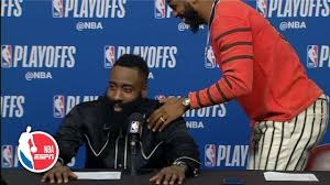 Chris Paul exits press conference after James Harden is asked every  question | NBA Sound | Chris paul, Basketball news, James harden