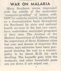 ddt disbelievers health and the new economic poisons in  image by flickr user boston war on malaria newspaper clipping ca 1947 scan by flickr user ted kerwin
